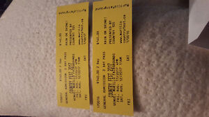 Tickets to Country Fest