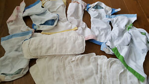 22 Bump genius diapers (Velcro and snaps)