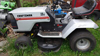 Craftsman lawn tractor for parts or repair - NOT WORKING