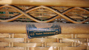 Victorian Rattan Chair by Gendron MFG Kingston Kingston Area image 6