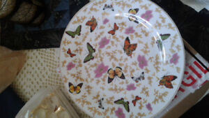 Decorative Butterfly Plate