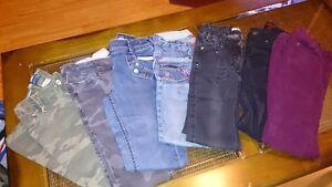 pantalons pour fillettes  8-10 ans