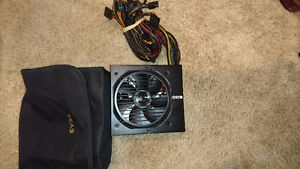 600W Bronze EVGA Power Supply Regina Regina Area image 1