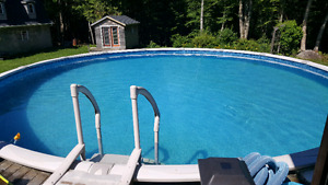 """SOLD - 21"""" Above Ground Pool"""