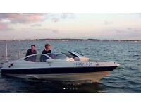 Regal 2100 sports boat bowrider Mercruiser 5.0 EFI wake board/ waterski boat
