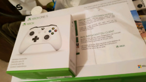Brand new Xbox one s with extra controller