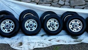 3/4 TON RIMS AND TIRES