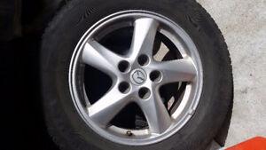 Mazda mags and yokahama tires