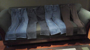 4 pairs of laddies jeans ( sold as a bundle)