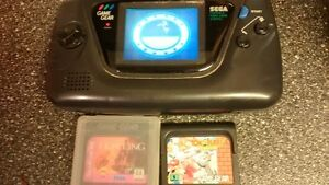game gear good working order 3 games