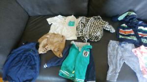 3-6mo and 6-12 mo clothes