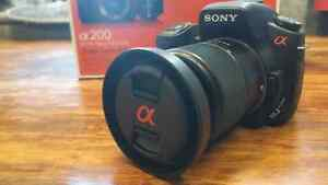 Barely used Sony dlsr for sale!