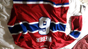 Never worn Montreal Canadians jersy