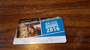 Prince George Bus Pass - May-June