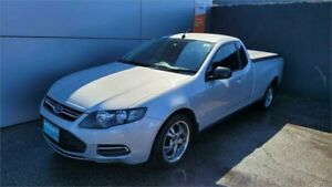 2014 Ford Falcon FG MkII EcoLPi Ute Super Cab Silver 6 Speed Automatic Utility