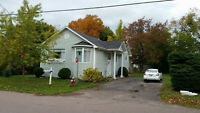 Beautifully located bungalow on a large lot in Shediac