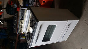 110 volt 2 burner stove and oven