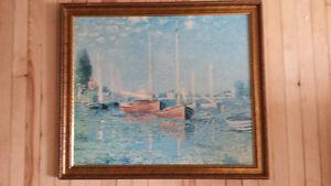 Tableau reproduction Monet