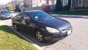 Black Honda Accord $2950