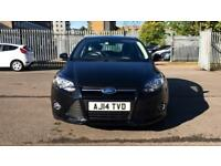 2014 Ford Focus 1.6 125 Zetec Navigator Powers Automatic Petrol Hatchback
