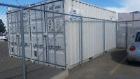 20ft High Cube Grey Shipping Containers, excellent condition