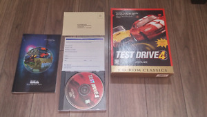Test Drive 4 PC Big Box Complete