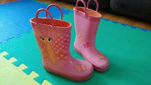 Girls rain boots (size 9)