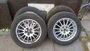 4 all weather max all season 16inch rims/tires