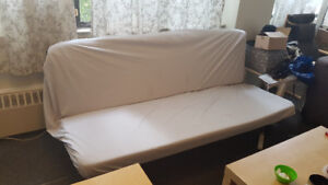 Futon Sofa Bed Frame & Mattress