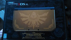 new 3ds xl. hyrule edition