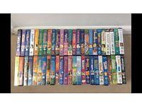 50 classic Disney vhs video titles