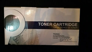 Compatible Brother TN450 Toner Cartridge + FREE ream of Paper!