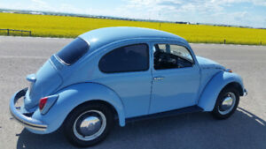 1968 VW Beetle Original.. Very Clean .. Robin Egg Blue