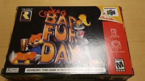 Conkers Bad Fur Day Complete In Box Excellent Condition!!