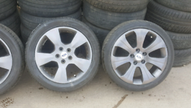 """FORD TRANSIT CONNECT ALLOYS17"""" INC BRAND NEW TYRES BAL N FIT OPN 7 DYS"""