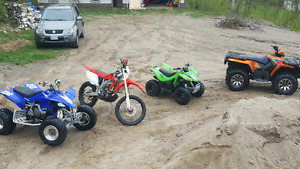 2 for 1  CRF 450x 2007  and 2004 YZF 450r