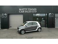 2015 15 SMART FORFOUR 1.0 PASSION 5D 71 BHP,45.900 MILES,FSH,£0 ROAD TAX,A