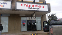 Need to sell,established salon /barber shop for sale $39000.00