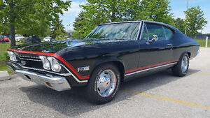 1968 CHEVROLET CHEVELLE  FACTORY AIR COND