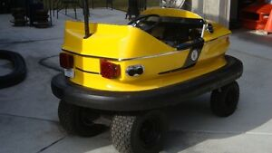 One of a kind gas powered bumper car