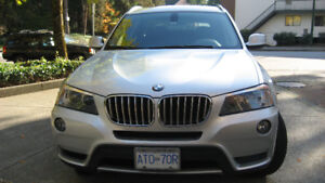 2011 BMW X3 SUV, Crossover