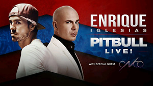 Enrique Iglesias & Pitbull Floor tickets at the ACC