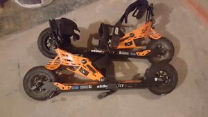 Skike v8 roller skis
