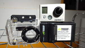 GoPro Hero 2 with accessories