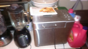 Various small appliances and kitchen items