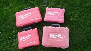 Milwakee Hard Tool Cases - 4 different ones available