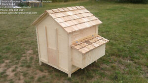 Deluxe Superior Quality Chicken Coop | Chicken Tactor | 3' x 3'