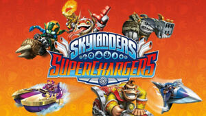 Skylanders SuperChargers Characters and Vehicles
