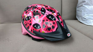 Infant lady bug bike helmet