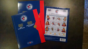 50th National Hockey League All-Star Game Stamps Kitchener / Waterloo Kitchener Area image 1